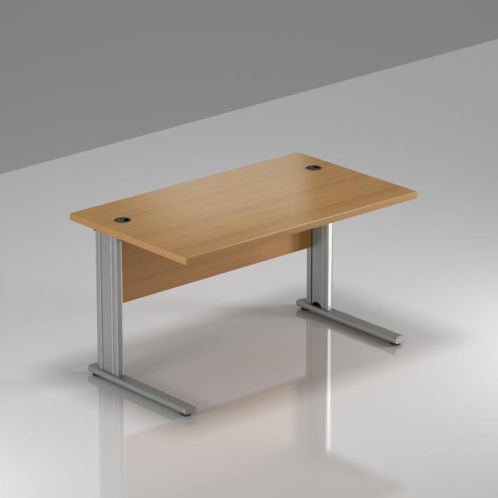 Kancelársky stôl Komfort, kovová podnož, 120x70x76 cm - BPR12 11