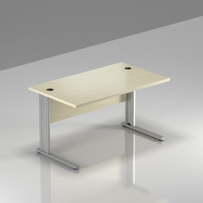 Kancelársky stôl Komfort, kovová podnož, 120x70x76 cm - BPR12 12