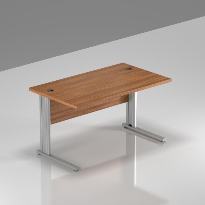 Kancelársky stôl Komfort, kovová podnož, 120x70x76 cm - BPR12 19