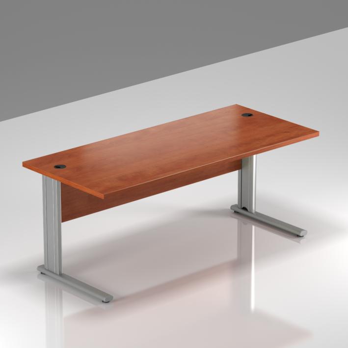 Kancelársky stôl Komfort, kovová podnož, 160x70x76cm - BPR16 03