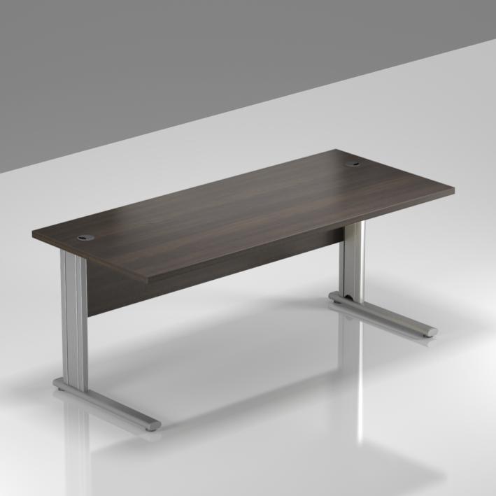 Kancelársky stôl Komfort, kovová podnož, 160x70x76cm - BPR16 07