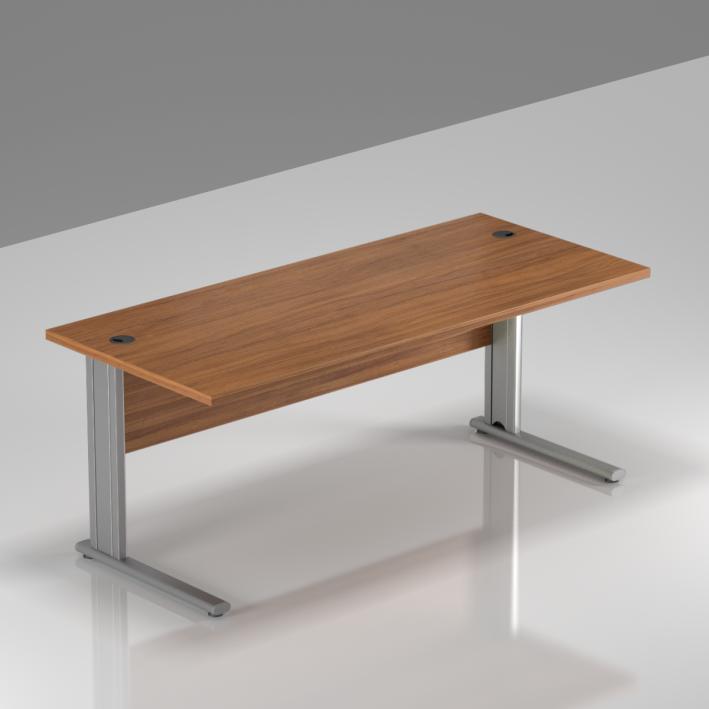 Kancelársky stôl Komfort, kovová podnož, 160x70x76cm - BPR16 19