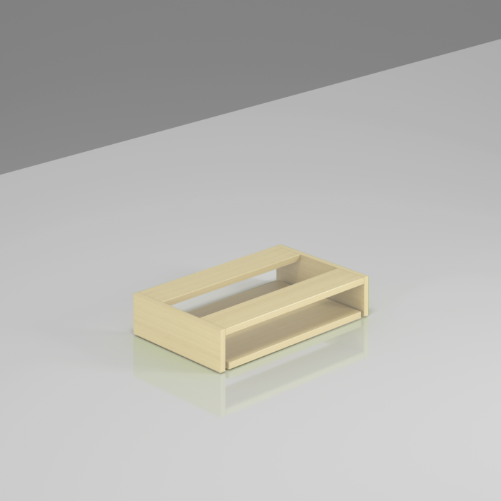 Doska pod stôl pre klávesnicu Komfort - BW03 12