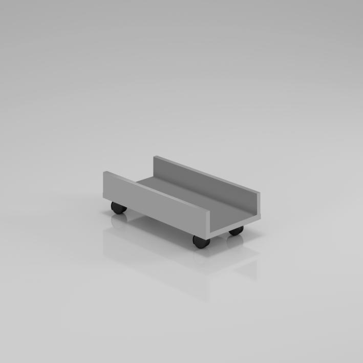 Podstavec pod PC skriňu Komfort, 50x25x14,3 cm - KPC01 14