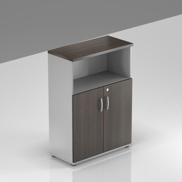 Kancelárska skriňa Komfort, 80x38,5x113 cm, dvere 2/3 - S382 07