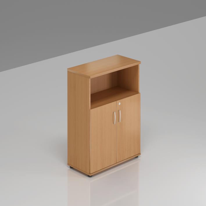 Kancelárska skriňa Komfort, 80x38,5x113 cm, dvere 2/3 - S382 11