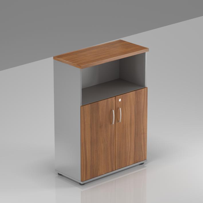 Kancelárska skriňa Komfort, 80x38,5x113 cm, dvere 2/3 - S382 19