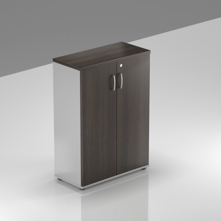 Kancelárska skriňa Komfort, 80x38,5x113 cm, dvere 3/3 - S383 07