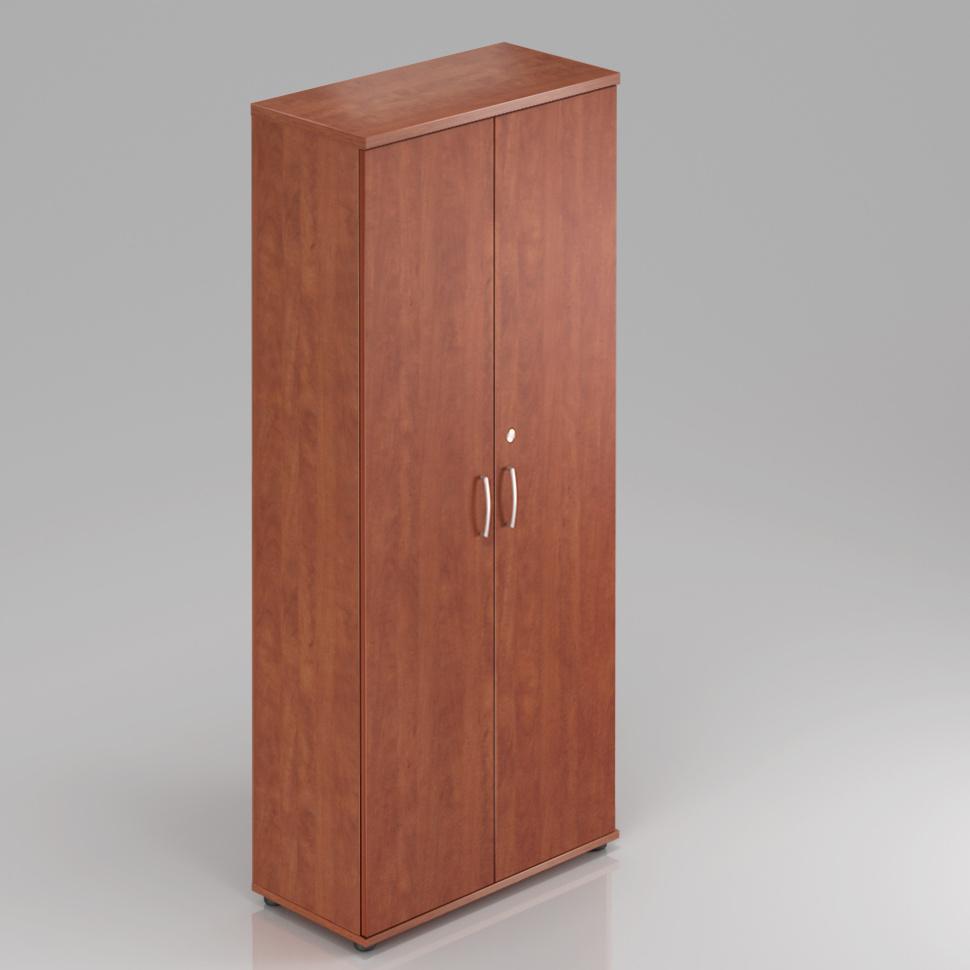 Kancelárska skriňa Komfort, 80x38,5x183,5 cm, dvere 5/5 - S585 03