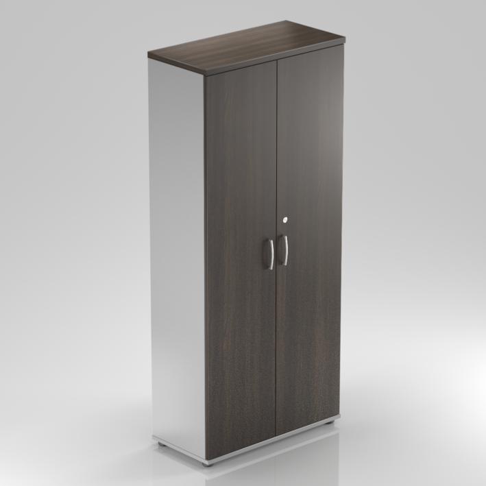 Kancelárska skriňa Komfort, 80x38,5x183,5 cm, dvere 5/5 - S585 07