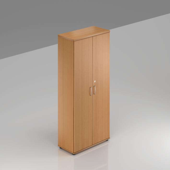 Kancelárska skriňa Komfort, 80x38,5x183,5 cm, dvere 5/5 - S585 11