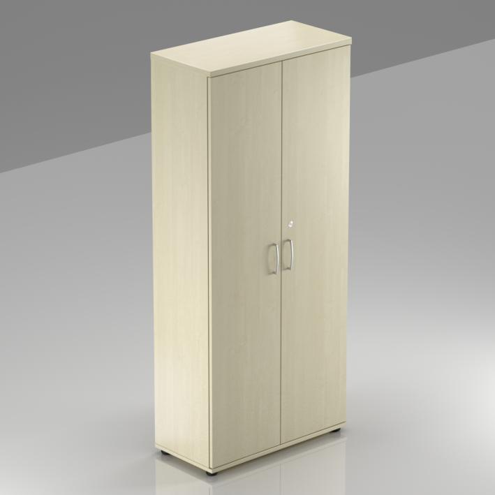 Kancelárska skriňa Komfort, 80x38,5x183,5 cm, dvere 5/5 - S585 12