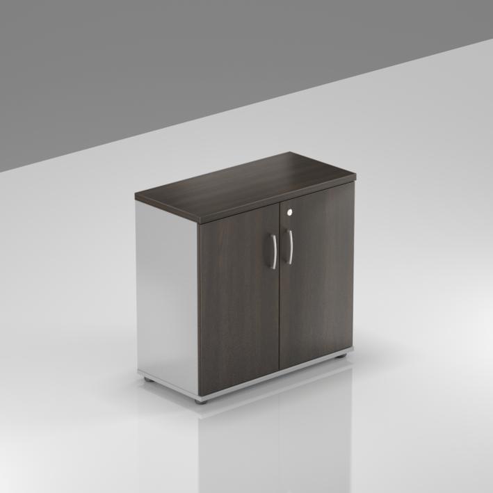 Kancelársky regál Komfort, 80x38,5x76 cm, dvere 2/2 - SB282 07