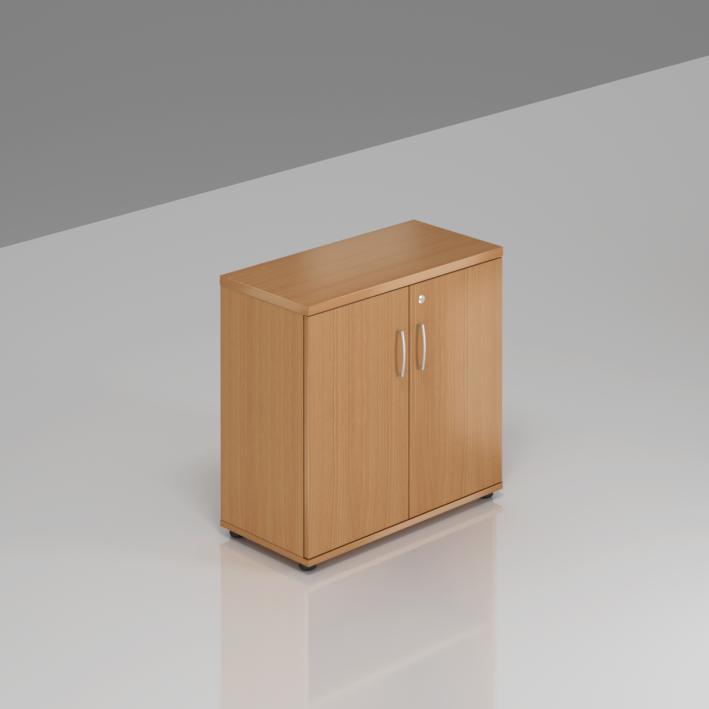 Kancelársky regál Komfort, 80x38,5x76 cm, dvere 2/2 - SB282 11