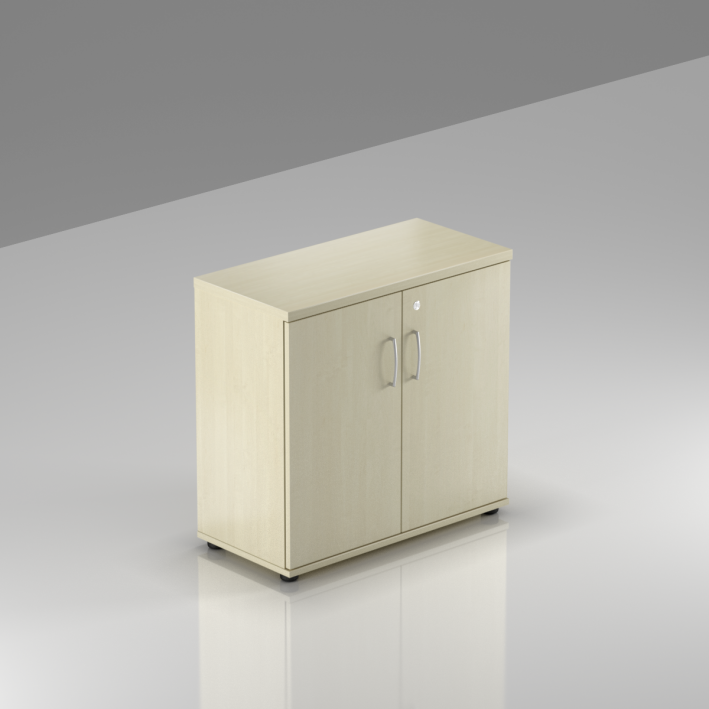 Kancelársky regál Komfort, 80x38,5x76 cm, dvere 2/2 - SB282 12