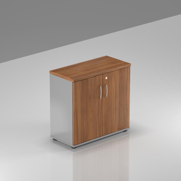 Kancelársky regál Komfort, 80x38,5x76 cm, dvere 2/2 - SB282 19