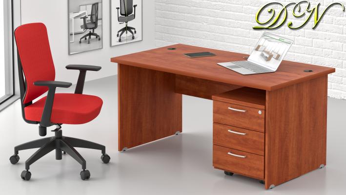 Zostava kancelárskeho nábytku Komfort 1.2, calvados - ZE 1.2 03