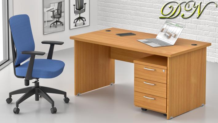 Zostava kancelárskeho nábytku Komfort 1.2, buk - ZE 1.2 11