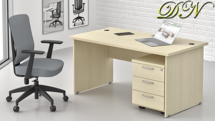 Zostava kancelárskeho nábytku Komfort 1.2, javor - ZE 1.2 12
