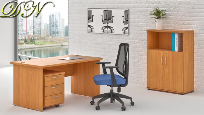 Zostava kancelárskeho nábytku Komfort 1.4, buk - ZE 1.4 11