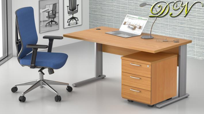 Zostava kancelárskeho nábytku Komfort 1.2, buk - ZEP 1.2 11