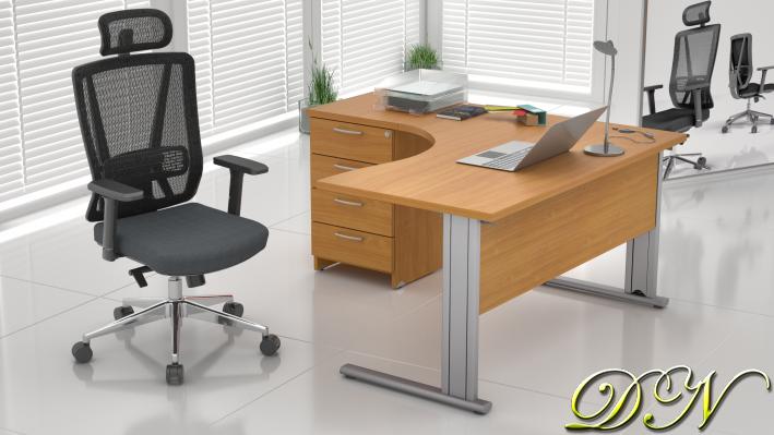 Zostava kancelárskeho nábytku Komfort 1.8, buk - ZEP 1.8 11