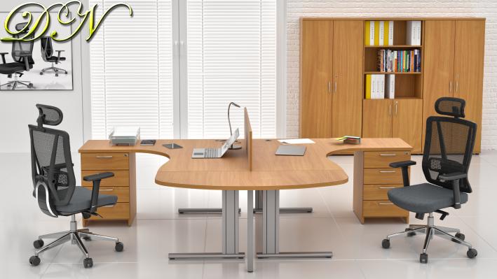 Zostava kancelárskeho nábytku Komfort 2.12, buk - ZEP 2.12P 11